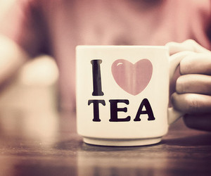 tea, love, and cup image