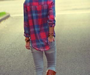 fashion, cute, and plaid image