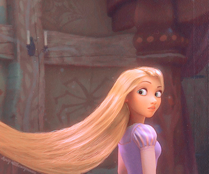 girl, disney, and long hair image