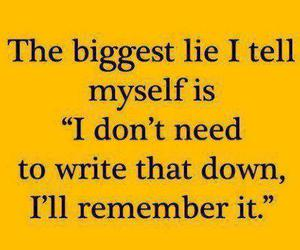 lies, funny, and quote image