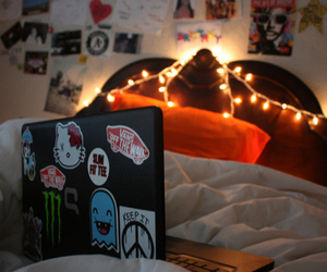 room, photography, and laptop image