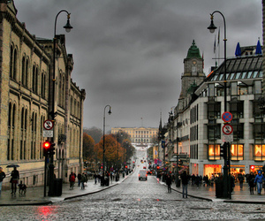 city, europe, and norway image