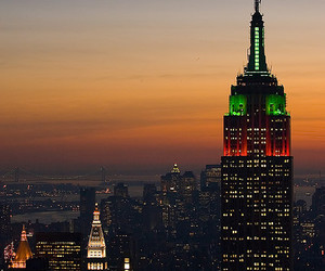 big apple, nyc, and empire state image
