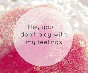 text, feelings, and pink image