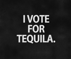 tequila, vote, and quotes image