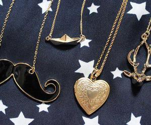 heart, moustache, and mustache image