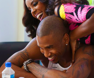 trey songz, love, and couple image