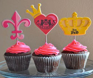 cupcake, pink, and juicy couture image