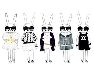 chanel, fifi lapin, and bunny image