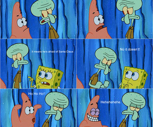 spongebob, funny, and patrick image