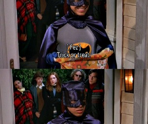 fez, that 70s show, and Halloween image