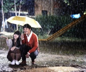 i miss you and rain image