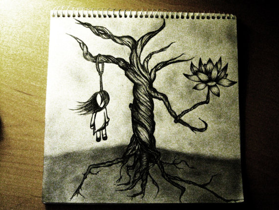 Emo Drawing By Audreysours On Etsy On We Heart It