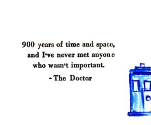 doctor who, quotes, and tardis image