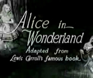 alice and Lewis Carroll image