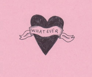 pink, whatever, and heart image