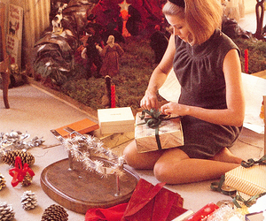 grace kelly and christmas image