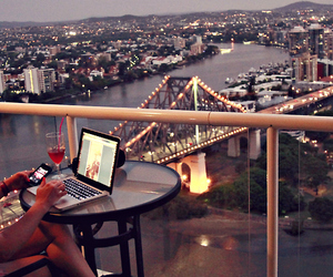 balcon, beautiful, and brisbane image