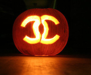 Halloween, chanel, and pumpkin image