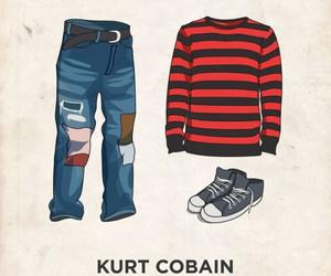 kurt cobain, nirvana, and style image