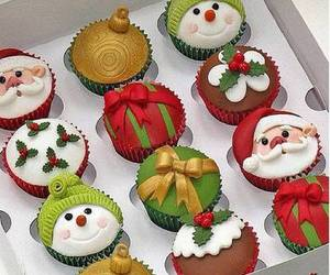 delicious, merry christmas, and cupcackes :) image