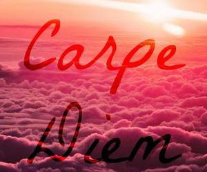 carpe diem, life, and clouds image