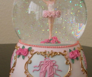 <3, snow globe, and cute image