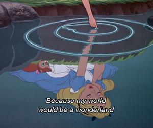 wonderland, alice, and alice in wonderland image