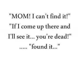 mom, funny, and lol image