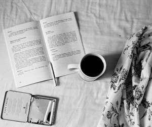 bad, book, and coffe image