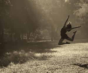 jump, dance, and girl image