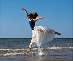 ballet, sea, and sun image
