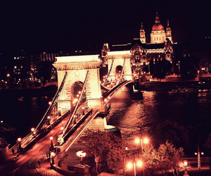 budapest, hungary, and light image