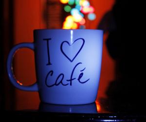 coffee, lights, and love image