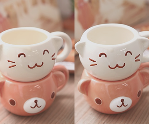 cute, cup, and kawaii image