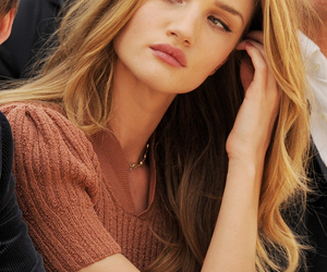 model, hair, and rosie huntington-whiteley image