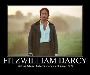 mr darcy, pride and prejudice, and edward cullen image