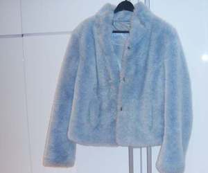 blue, fashion, and coat image