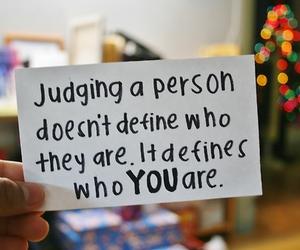 quote, true, and judge image