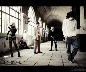 death note, cosplay, and L image