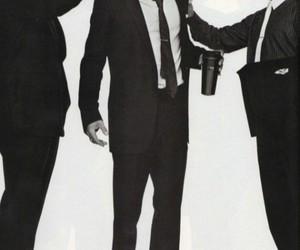 brad pitt, matt damon, and george clooney image