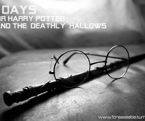 deathly hallows, harry potter, and harry image