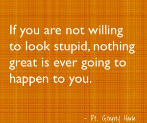 quote, stupid, and great image