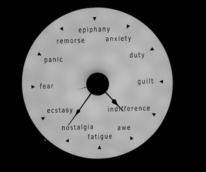 clock, anxiety, and black and white image