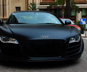 car, audi, and black image