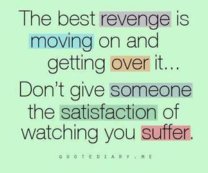 quotes, revenge, and text image
