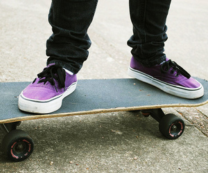 skate, photography, and purple image