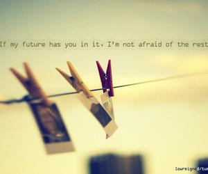 love, future, and quote image