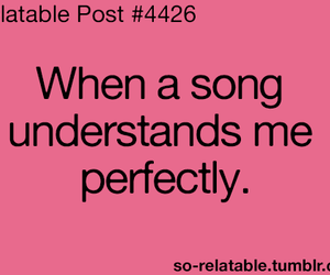 song and text image