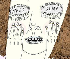 sleep, need, and art image